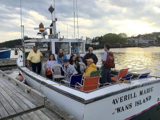 Ferry to Swan's Island